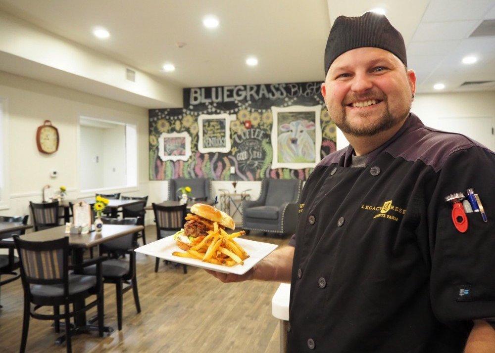 Legacy Reserve Fritz Farm Senior chef Lexington Kentucky
