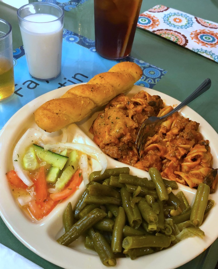 Savory Noodle Casserole at Angels for the Elderly in Montgomery, AL