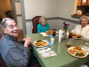 Memory care residents at Angels for the Elderly in Montgomery, AL