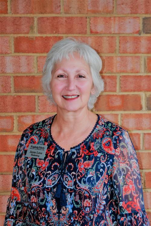 Jayne Love, Activities Coordinator/Marketing at Angels for the Elderly in Montgomery, AL