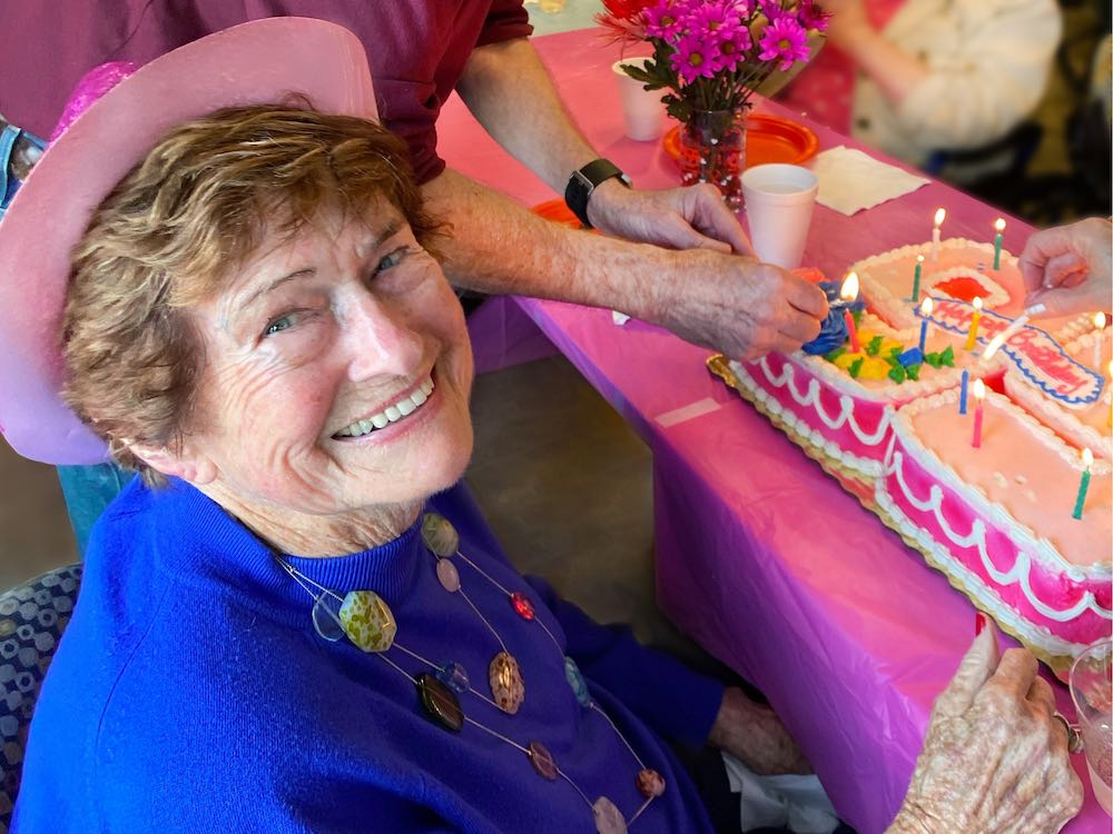 Fairview Park senior resident celebrating birthday in Simpsonville, SC