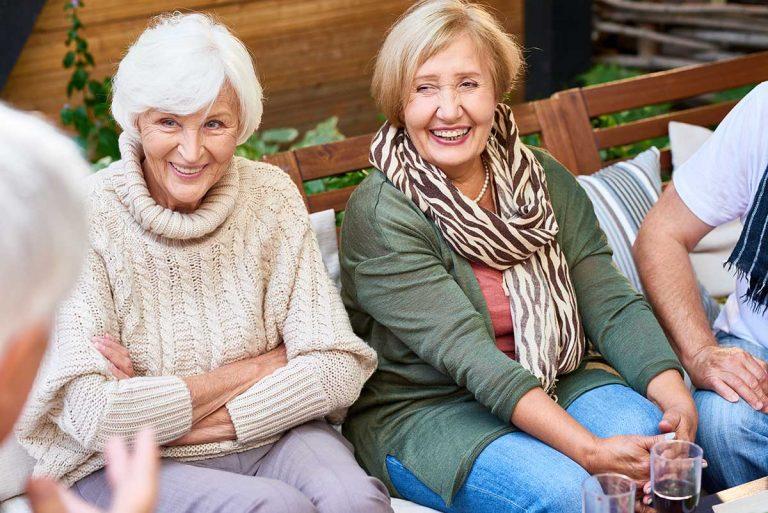 Lake Howard Heights | Senior women smiling