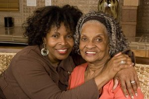 Lake Howard Heights | Senior woman with daughter