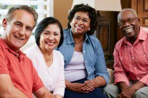 Lake Howard Heights | Happy group of seniors