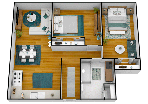 Lake Howard Heights | Floor Plan