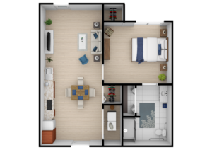 Legacy Reserve at Fairview | One Bedroom ADA
