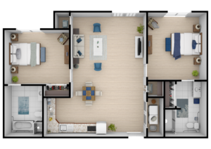 Legacy Reserve at Fairview | Two Bedroom ADA