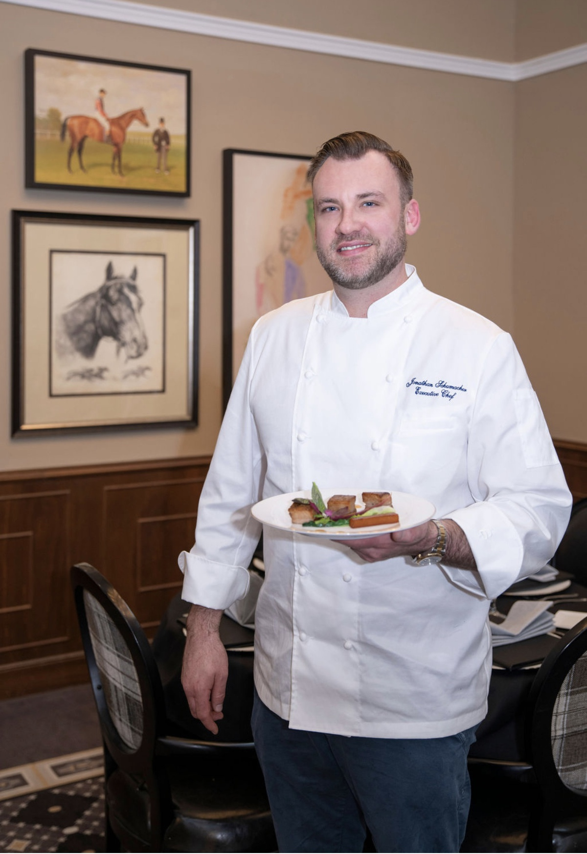 Legacy Reserve at Fairview | Chef Holding Dinner Plate
