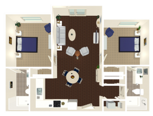 Legacy Reserve at Fritz Farm | Independent Living Two Bedroom