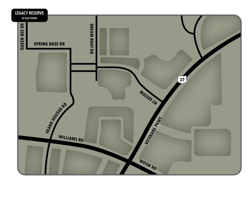 Legacy Reserve at Old Town | Map