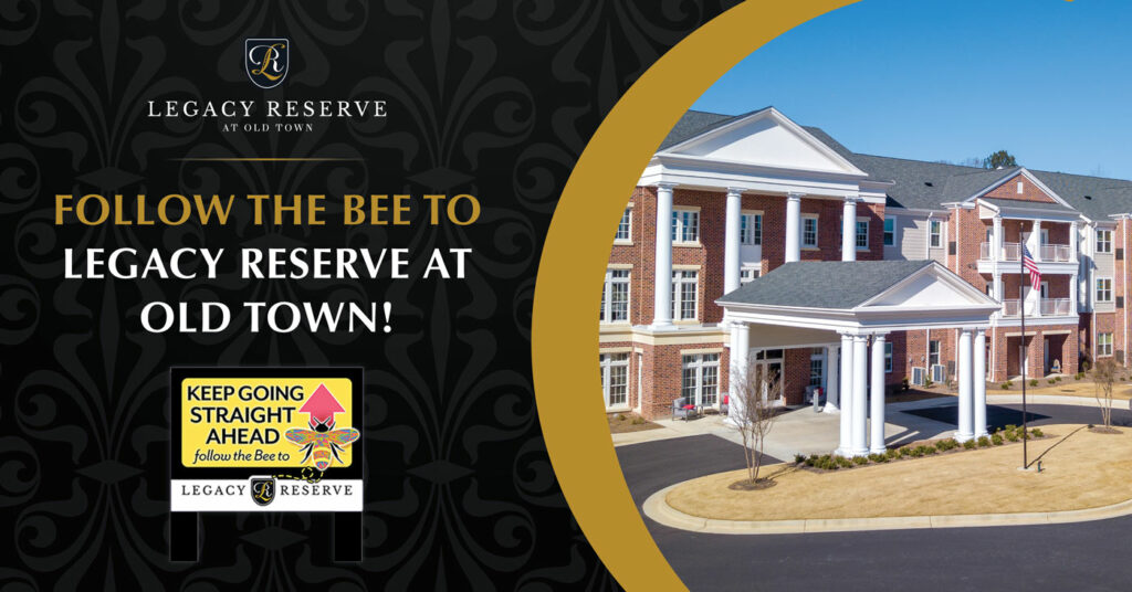 Legacy Reserve at Old Town | Follow the Bee