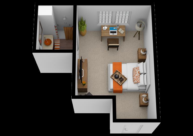 Legacy Ridge at Buckhead   One Bedroom