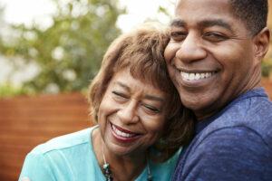 Atlas Senior Living | Mother & Son Smiling