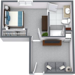 Legacy Ridge at Neese Road | One Bedroom A
