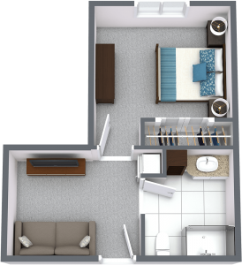 Legacy Ridge at Neese Road   One Bedroom B