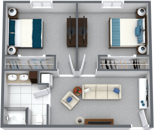 Legacy Ridge at Neese Road | Two Bedroom