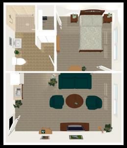 Legacy Ridge Trussville | One Bedroom