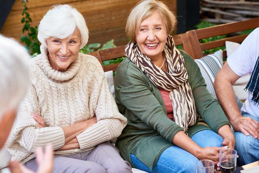 Legacy Ridge at Trussville | Seniors laughing