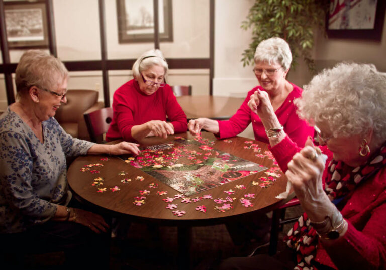 Legacy Ridge Trussville Senior Ladies with Puzzle Trussville Alabama