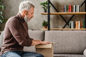 Atlas Senior Living | Senior man downsizing