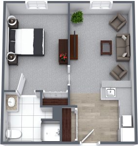 Legacy at Savannah Quarters | One Bedroom Large