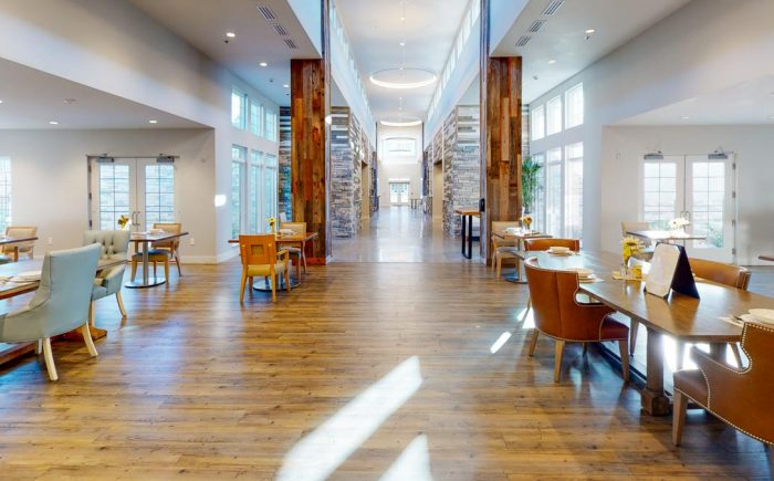 Legacy at Savannah Quarters | Assisted Living Dining Area