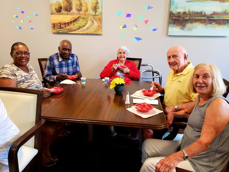 Madison Heights Enterprise memory care residents