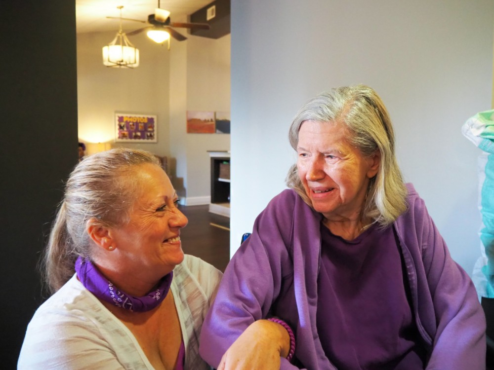 Madison Heights Evans | Resident and associate in group activity