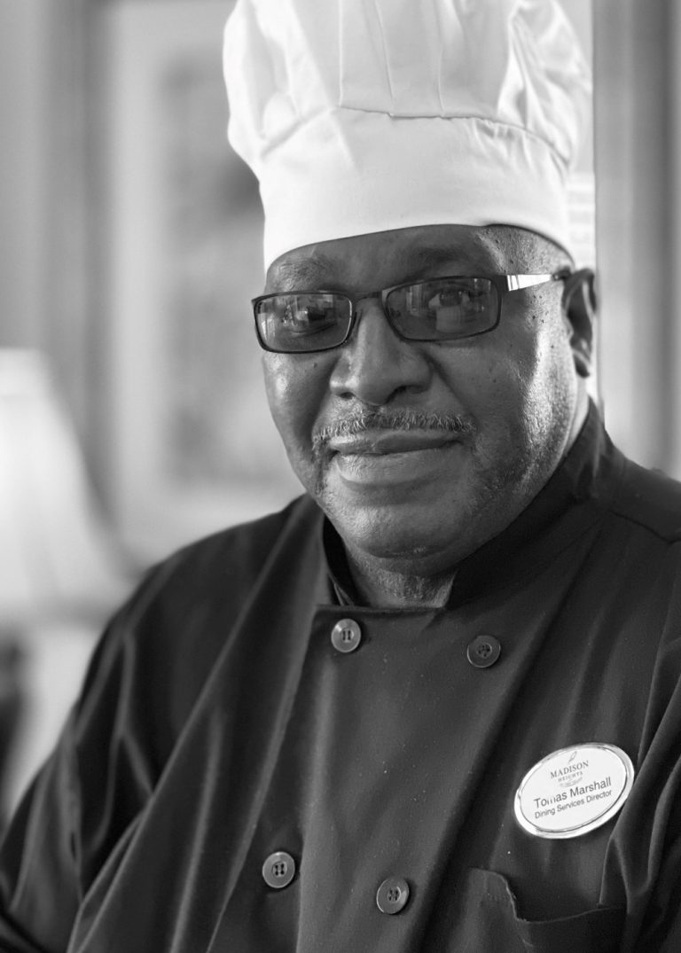 Madison Heights at The Prado | Dining Services Director Chef Tomas