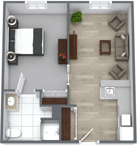 Madison at The Range | Large One Bedroom