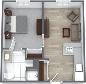 Madison at The Range | One Bedroom