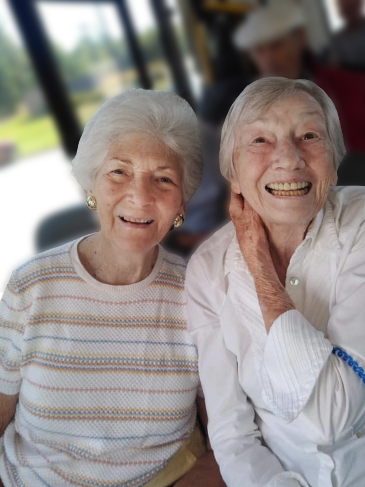 Memory care residents from Spring Park in Travelers Rest, SC