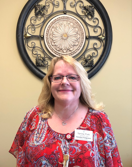 Lifestyles Director Sandra of Spring Park in Travelers Rest, SC