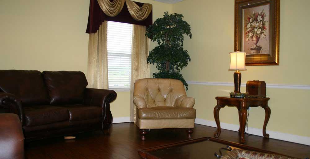 The Goldton | Living Room