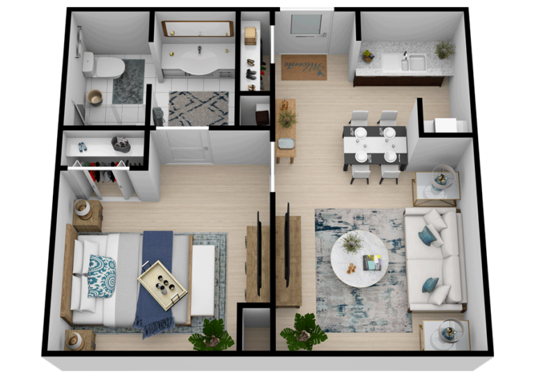 The Goldton at Southaven | One Bedroom One Bathroom