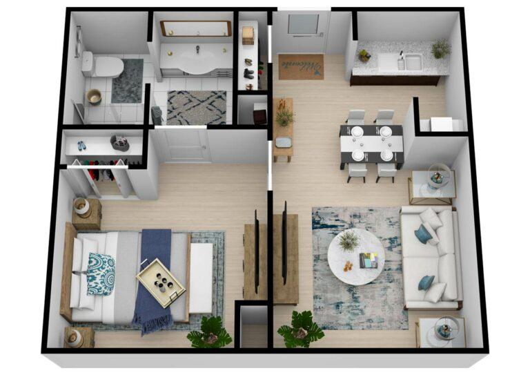 The Goldton   One Bedroom One Bathroom