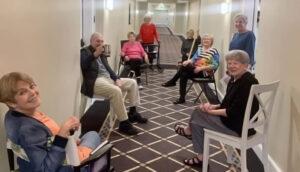 Atlas Senior Living | Residents Practicing Social Distancing