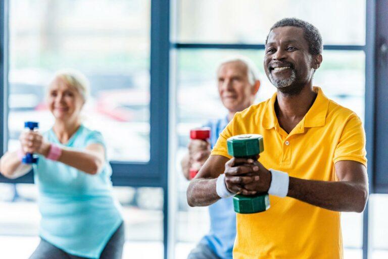 The Goldton at St. Petersburg | Seniors exercising