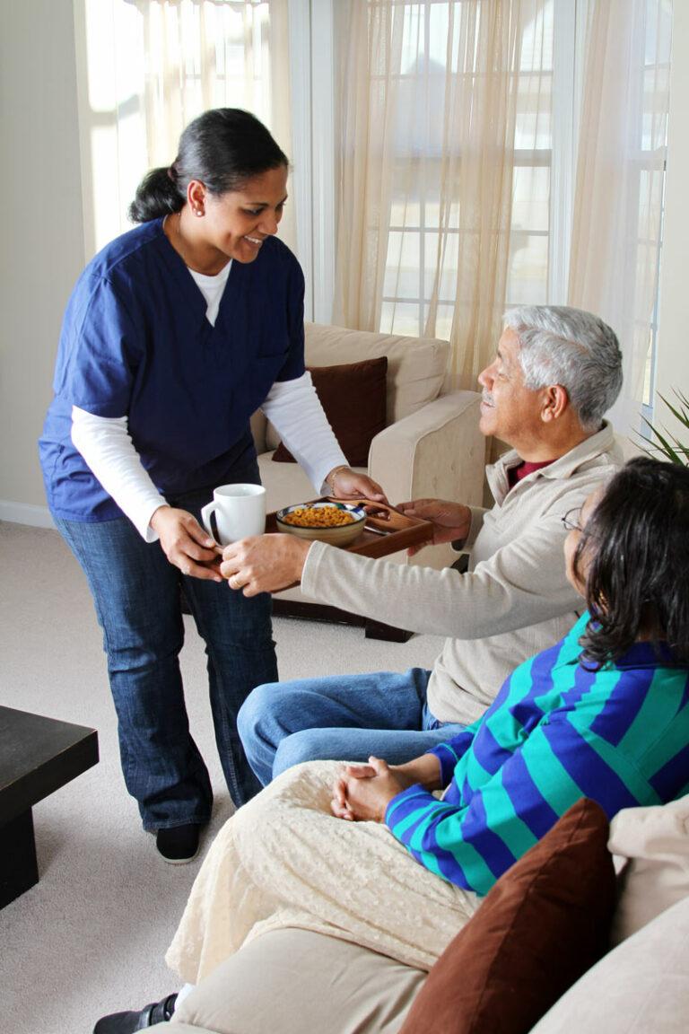 The Goldton at St. Petersburg | Caregiver serving seniors