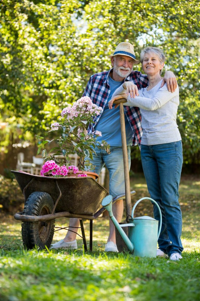 The Goldton at St. Petersburg | Senior couple gardening