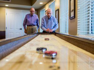Atlas Senior Living | Residents playing games