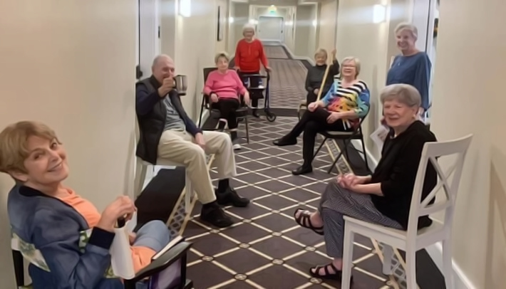 Atlas Community Residents Practicing Social Distancing Featured