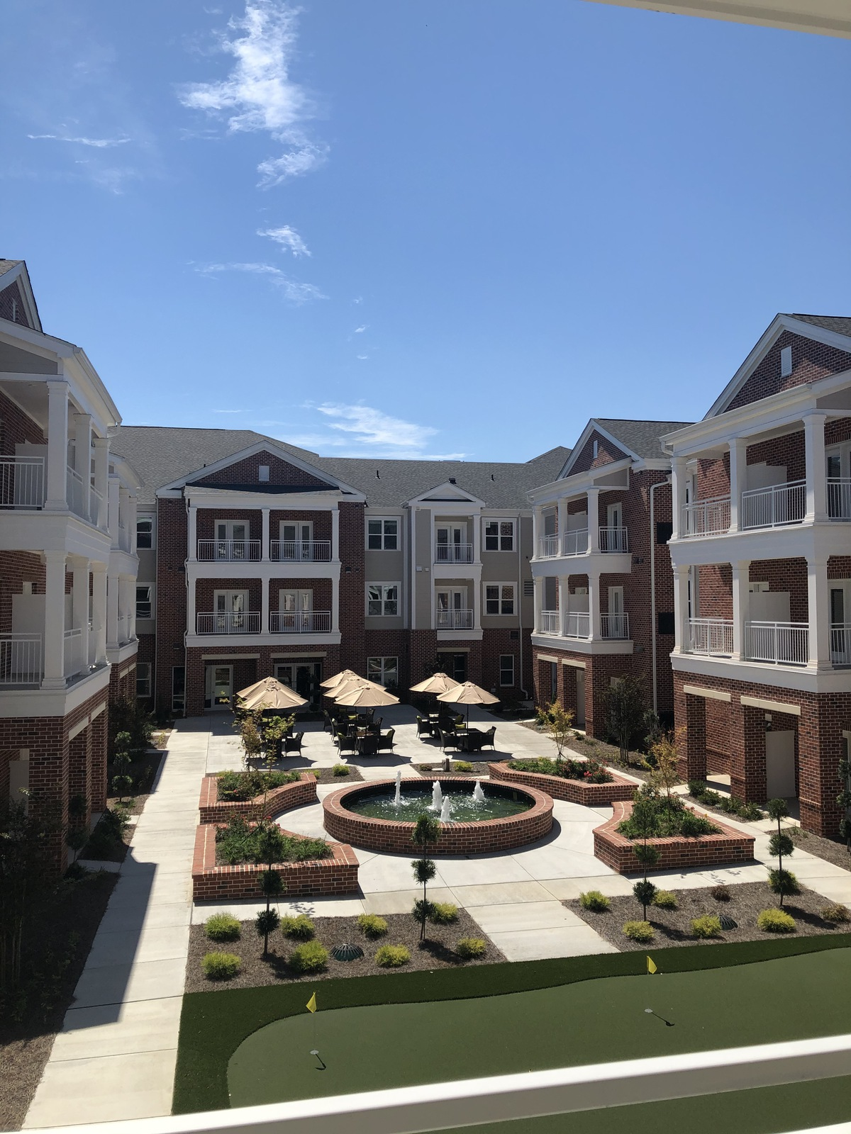 Legacy Reserve Old Town | Exterior courtyard