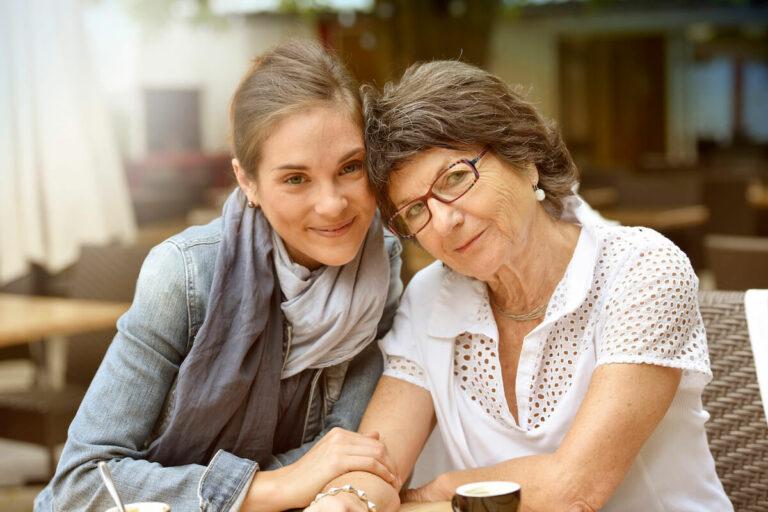 Atlas Senior Living | Mother & Daughter Smiling For A Photo
